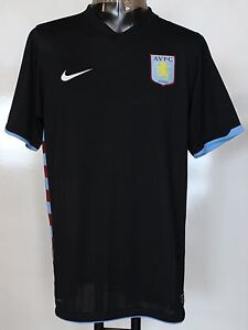 ASTON VILLA 2010/11 PLAYER ISSUE AWAY SHIRT BY NIKE SIZE LARGE BRAND NEW UNSPONS