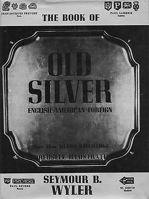 Antique Silver - American English Foreign - 20, 000 Hallmarks / Reference Book