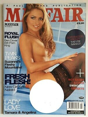 Mens Vintage Classic Glamour Magazine Mayfair Vol.40 No.5