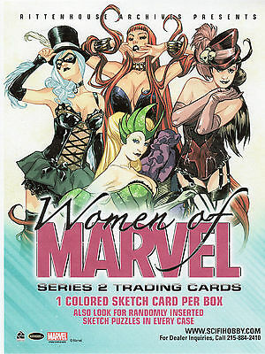 Woman of Marvel series 2  90 card Base Set PURPLE FOIL and  Wraper