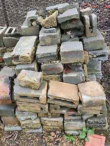 Broken besser bricks / blocks Monbulk Yarra Ranges Preview