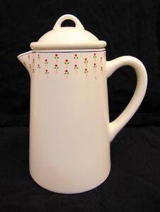 Petite Fleur England Coffee Pot Ceramic