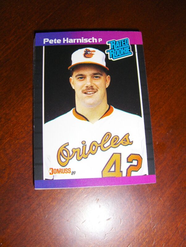 ORIOLES 1989 DONRUSS 23 CARD TEAM SET RIPKEN, HARNISCH OLSON RC, MURRAY +