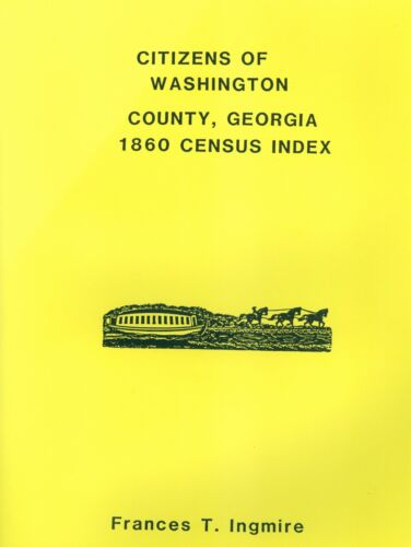 CITIZENS OF WASHINGTON COUNTY, GEORGIA - 1860 CENSUS INDEX