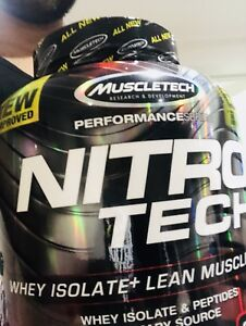 Nitrotech muscletech 10 lbs whey isolate + lean muscle builder