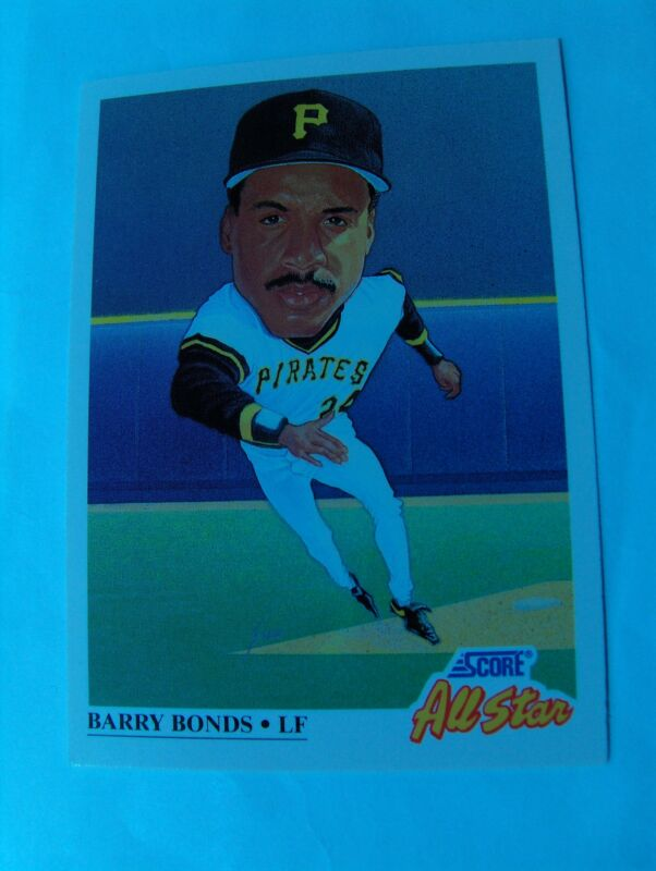 PIRATES 1991 SCORE 37 CARD TEAM SET, BONDS, BONILLA, DRABEK, VAN SLYKE +