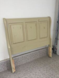 Beautiful solid wood headboard for double bed