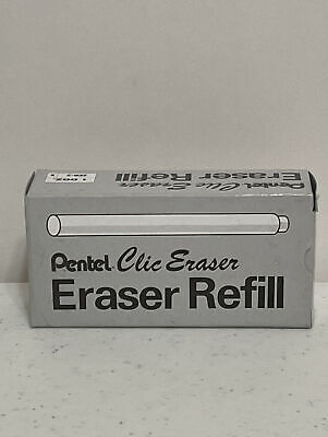 Pentel Clic Eraser Refill Zer-2 For Ze21 Ze22 Retractable Eraser Pen-1 Box