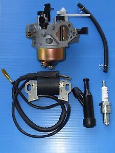 HONDA-GX240-GX270-CARBY-IGNITION-COIL-SPARK-PLUG-CAP-8HP-9HP-MOTOR