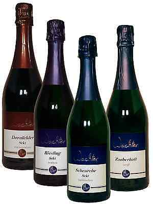 6 Fl. Probierpaket Sekt - Direkt vom Weingut Wachter -