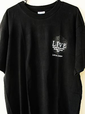 LIVE ~ Exclusive 1997 Concert Tour T-Shirt ~ Size - XL ~ NEW
