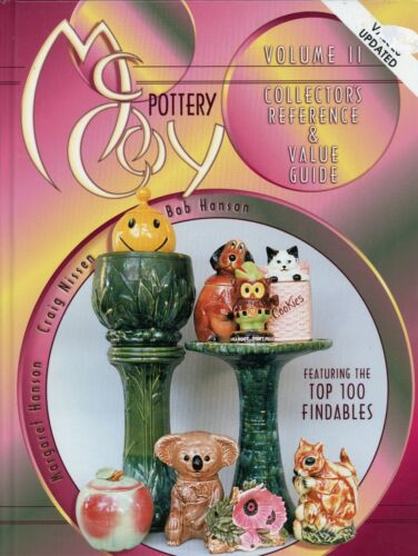 McCoy Art Pottery - Cookie Jars Rare Pieces Wall Pockets Lamps.../ Book + Values