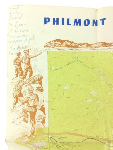 Philmont Scout Ranch Explorer Base Cimarron New Mexico Vintage BSA Map Boy Scout