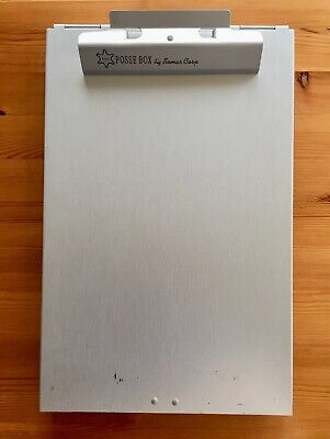 Large Posse Aluminum Metal Clipboard Storage Box Bottom Opening 9-14 X 14-14