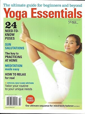 Yoga Essentials Magazine Best Poses Practice At Home Easy Meditation