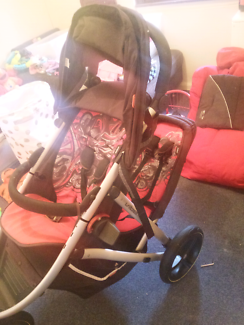 Phil and Ted's Vibe Double pram