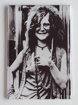 Janis Joplin Fridge Magnet  2 X 3 Inches  Big Brother Holding Company