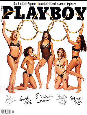PLAYBOY ABO AUSGABE 09/2016-RED HOT CHILI PEPPERS-NACKT IM PLAYBOY-OLYMPIA 2016