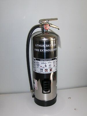 Fire Extinguisher For Lithium-ion Electric Vehicle Battery Packs