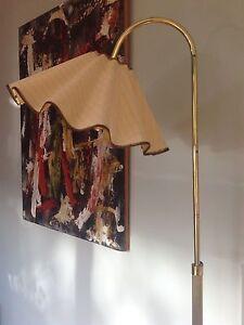 Vintage brass floor lamp Newport Pittwater Area Preview