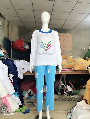 Overwatch OW CG Mei Rise and Shine Polar Bear Pajamas cosplay costume outfit&6 (Bear Costum)