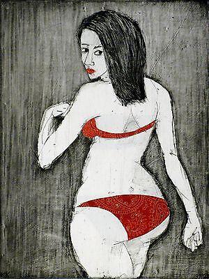 KATHARINA KRETSCHMER - Ophelia - Papiercollage 1999/2009