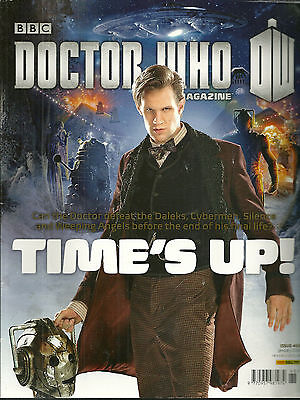 RARE Back Issue - DOCTOR WHO MAGAZINE #468 - MATT SMITH - Anthony Coburn - 11th