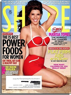 Shape - 2010, August - Marisa Tomei, The 15 Best Power Foods For Women, Sexy (Best Foods For Abs)