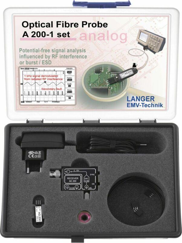 Langer EMV A200-1 Set Optical Fibre Probe 1-channel, 500 kHz EMC Tools and Probe