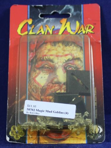 AEG: Clan War- 50702 Magic Mud Goblins (4 Models) *NOS* AO74