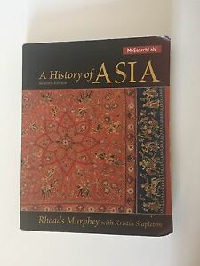 A History of Asia (7th edition)