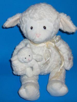 Baby Gund Talking Animated Nursery Rhymes Plush Nursery Time Lamb & Baby