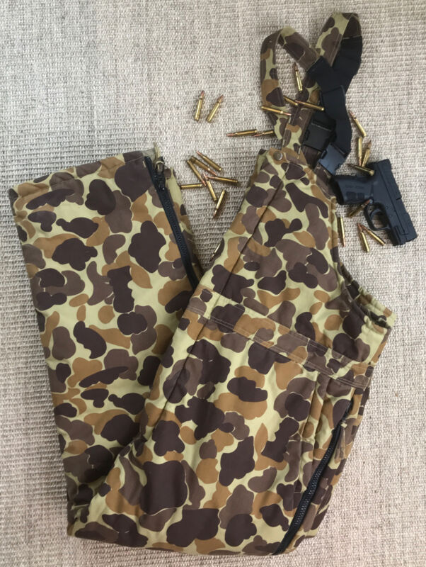 Gamehide Quilted Insulated Hunting Bibs XL~In Excellent Condition