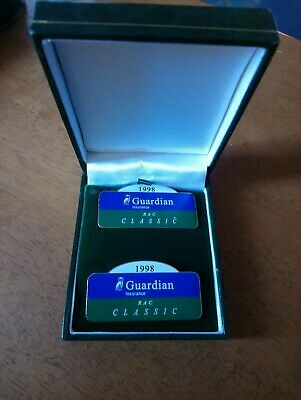 Guardian RAC Classic 1998 Pair Of Competitor Lapel Badge for sale  Shipping to Canada