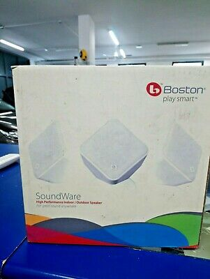 Coppia fantastici Mini Diffusori per interno esterno Boston Acoustics Sound Ware