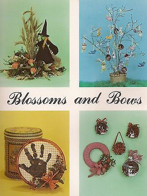 Easter, Christmas, Fall & Halloween Patterns - Craft Book: Blossoms and - Halloween And Fall Crafts