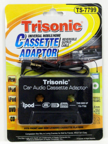 Audio Cassette Tape Adapter AUX Cable Cord 3.5mm Jack for to Mp3 iPod CD...