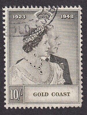 Gold Coast 1948  10/- RSW used