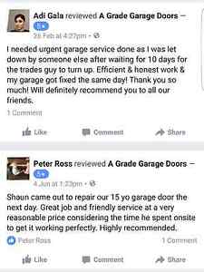 Garage Door Repairs & Maintanace Canning Vale Canning Area Preview