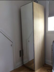 IKEA Pax wardrobes x2, mirrored fronts