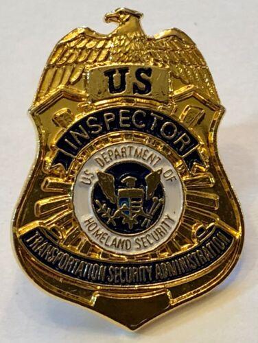 OBSOLETE US Inspector TSA Transportation Security Administration Lapel Pin Badge
