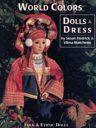 International Folk and Ethnic Dolls inc. Costume Dress / Illustrated Book