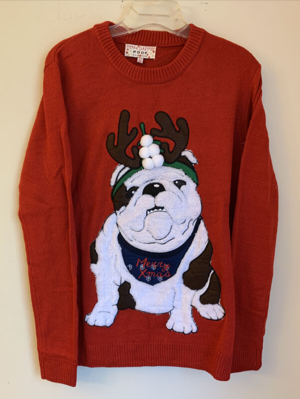 English Bulldog Holiday Sweater GET BEFORE THEY ARE ALL GONE!