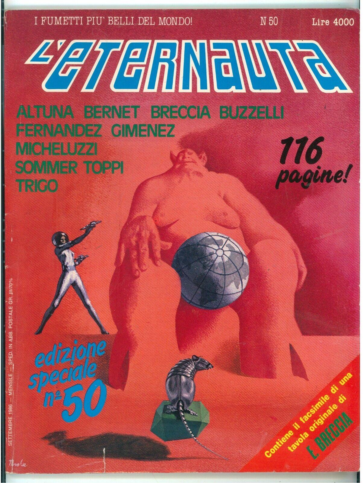 L'ETERNAUTA NUMERO 50 SETTEMBRE 1986 FUMETTI KARL THOLE SERGIO TOPPI FERNANDEZ