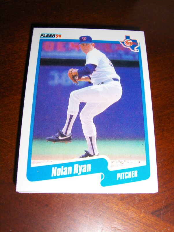 RANGERS 1990 FLEER 27 CARD TEAM SET, RYAN, BAINES, SIERRA, GONZALEZ, ROGERS +