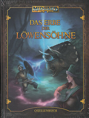 Midgard: Das Erbe der Löwensöhne (Quellenband), Hardcover, NEU