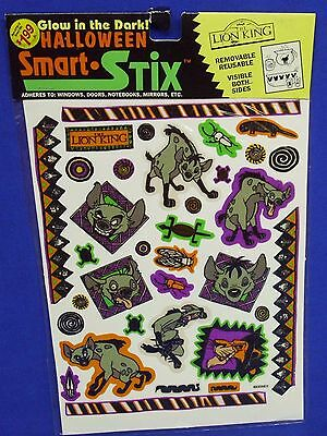 Eureka Smart Stix Glow in Dark Vinyl Reusable Halloween Decorations Lion King