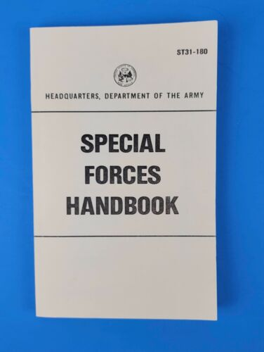 Special Forces Handbook ST 31-180 Department of the Army Perfect Condition Repro