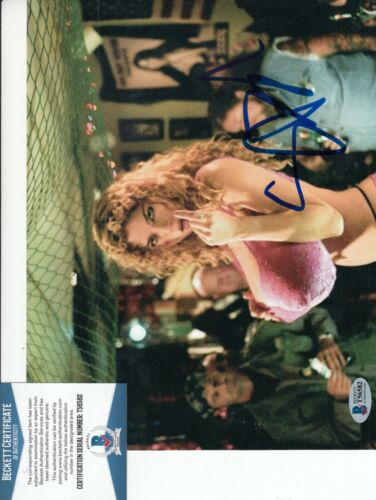 SELMA BLAIR signed (A DIRTY SHAME) Caprice Movie 8X10 photo BECKETT BAS T56582