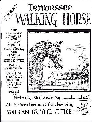 America's Tennessee Walking Horse Book by Jack Knox! >>>SPECIAL PRICE<<<